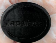 Annique Face Facts Charcoal Cleansing Soap Bar - 125g