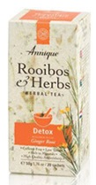 Annique Detox Tea with Ginger - 20 bags