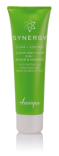 Annique Synergy Clean and Calm 2-in-1 Scrub and Masque - 50ml