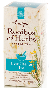Annique Rooibos & Milk Thistle & Dandelion tea - 20 Bags